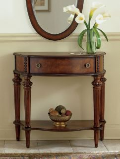 Hyde Park Inlaid Console Table Accent Table Marquetry