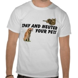 Spay and Neuter Shirt