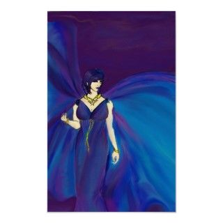 Diosa de Nyx de la noche II Posters de