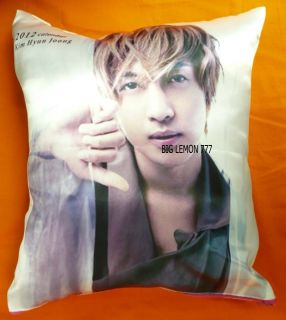 Kim Hyun Joong SS501 Photo Cushion Pillow Cover Pillowcase Q17