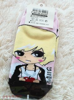 BIGBANG TVXQ SNSD Hyori Socks KPOP Korean Character Cute Anime Couple