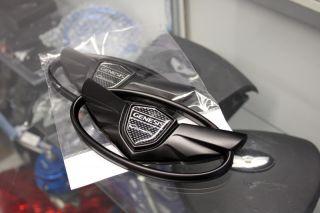 2013 HYUNDAI GENESIS COUPE 2.0T 3.8 V6 MATTE BLACK WING EMBLEM (GRILLE