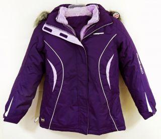 Xposur 4 in 1 Performance Winter Snow Ski Jacket Coat Purple