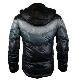 Armani EA7 271285 1W340 Mens Down Jacket AW11 Black Grey