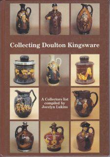 Royal Doulton Lambeth Kingsware John Barleycorn Whisky Flagon Flask