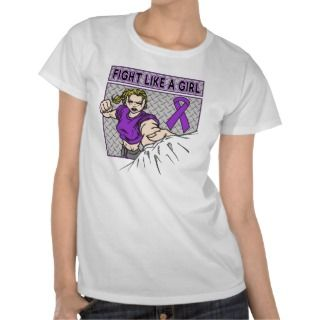 Lupus Fight Like A Girl Punch Tee Shirts