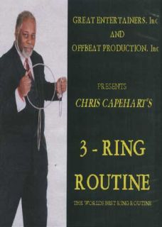 Chris Capeharts The Misers Dream and 3 Ring Routinee DVDs Free