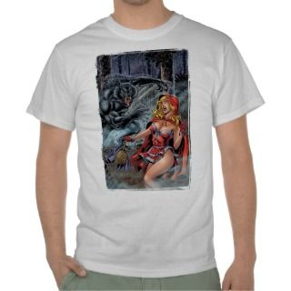 Grimm Fairy Tales #1 Red Riding Hood Big Bad Wolf Tees