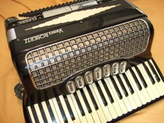Vinny Roberts Custom Accordion Accordian Made in Italy case included