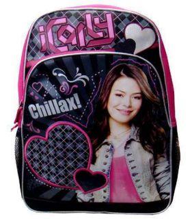 iCarly Large 16 Backpack Bag Bookbag School