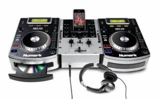 Numark ICD DJ in A Box Complete CD iPod DJ System