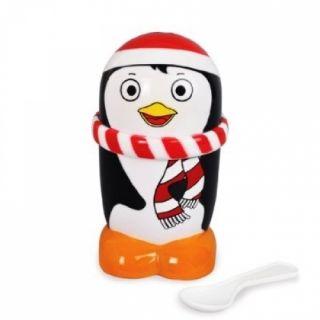 New Mugz The Ice Cream Maker Penguin Gift