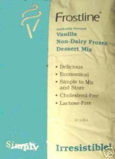 Vanilla Soft Serve Ice Cream Mix Cappuccino Smoothies