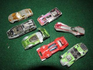 Hot Wheels Redline Cars; iceT, Paddy Wagon, Bugeye, Shelby, McLaren