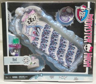 Monster High Abbey Bominable Ice Bed Brand New in Hand