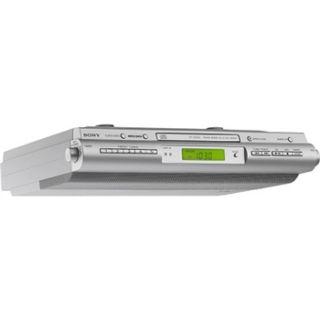 ICF CDK50 Under Counter Kitchen Cabinet CD Clock Radio ICFCDK50