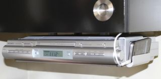 f0041 coby amfmcd under cabinet clock radio youtube - Radio Under Kitchen Cabinet
