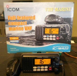 Icom IC M422 Marine VHF Radio Transceiver