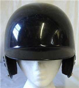 Youth Baseball Softball Batting Helmet Black Large Pre Owned
