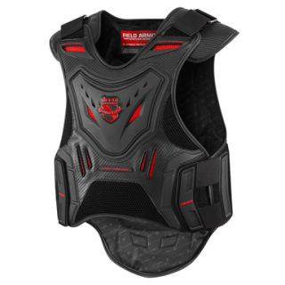 New Icon Stryker Vest Motorcycle Street Bike Back Armor Chest