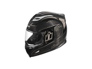 Icon Airframe Lifeform Carbon Helmet XS Black