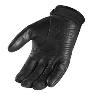 New Icon 29er Gloves Street Bike Motorcycle Mens Black Large