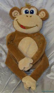 Adorable Idea Nuova Plush Big Soft Smiling Monkey Hugging Pillow Buddy