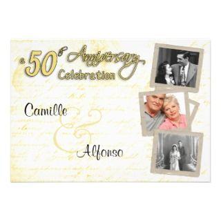 Love Letters 50th Anniversary Celebration Invite