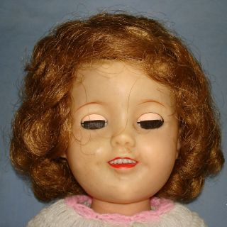 Vintage Ideal Shirley Temple 17 inches Tall Doll St 17