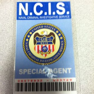 NCIS ID   ID Badge   Cosplay   Costume   Special Agent