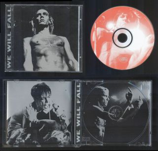 Iggy Pop Tribute CD We Will Fall STOOGES JOAN JETT JOEY RAMONE MISFITS