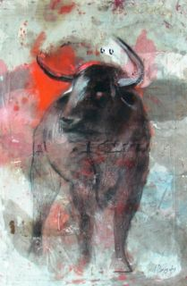Ignacio Burgos Toro Original Signed Painting