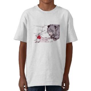 Bear Finds Prairie Dog Tee Shirts