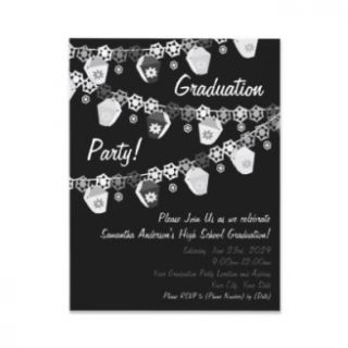 Invitaciones del boleto de la fiesta de graduación anuncios