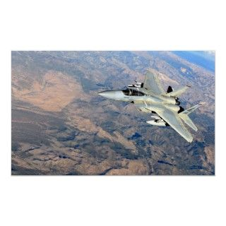 15 Eagle Fighter Jet Aircraft USAF Print