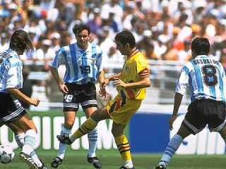 1994 World Cup Romania Argentina 3 2 DVD English Commentary Entire