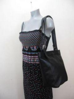 Ili Black Leather Hobo Tote Bag Purse Sling Beautiful