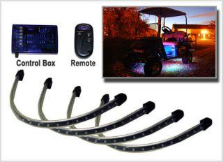 4pc Million Color LED Golf Cart LED Underglow Light Kit