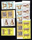 Lebanon Afghanistan 1960s/70s MNH (24 Stamps)Stamp Day Aviation Red