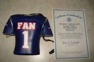 Authenticated Le Illuminated Ornament NE 1 Fan Blue Jersey