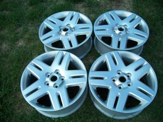06 07 08 09 10 11 12 IMPALA MONTE CARLO 17 MACHINED SILVER WHEELS OEM