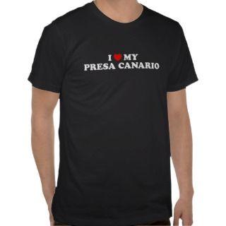 Heart My Presa Canario Dark T Shirt