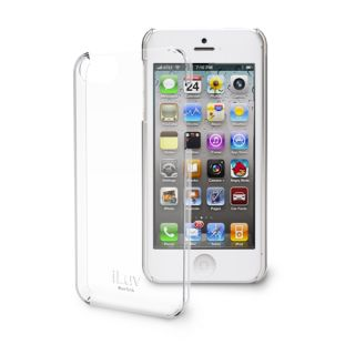 iLuv Gossamer Clear Hardshell Case for iPhone 5 ICA7H304CLR