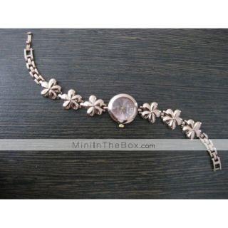 moda mujer de aleación de tipo analógico reloj pulsera de cuarzo (de