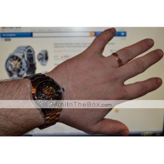 USD $ 19.73   Mens Premium Alloy Style Analog Mechanical Wrist Watch
