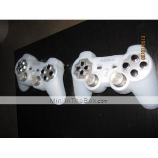 USD $ 5.19   Custom Replacement Button Set for PS3 Controller (Silver