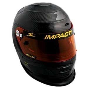 Impact Carbon Fiber Draft Racing Helmet L New Cool