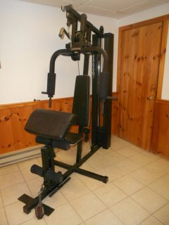 Impex Powerhouse Multi Station Gym Weight Machine Home Gym
