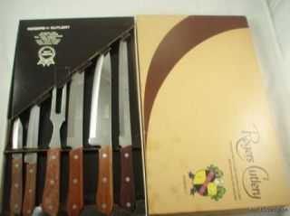 Vintage Rogers Cutlery Stainless Steel Knife Knives Set