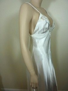 NWT $78 Jonquil in Bloom Large Satin Nightgown Ivory Bridal Gown